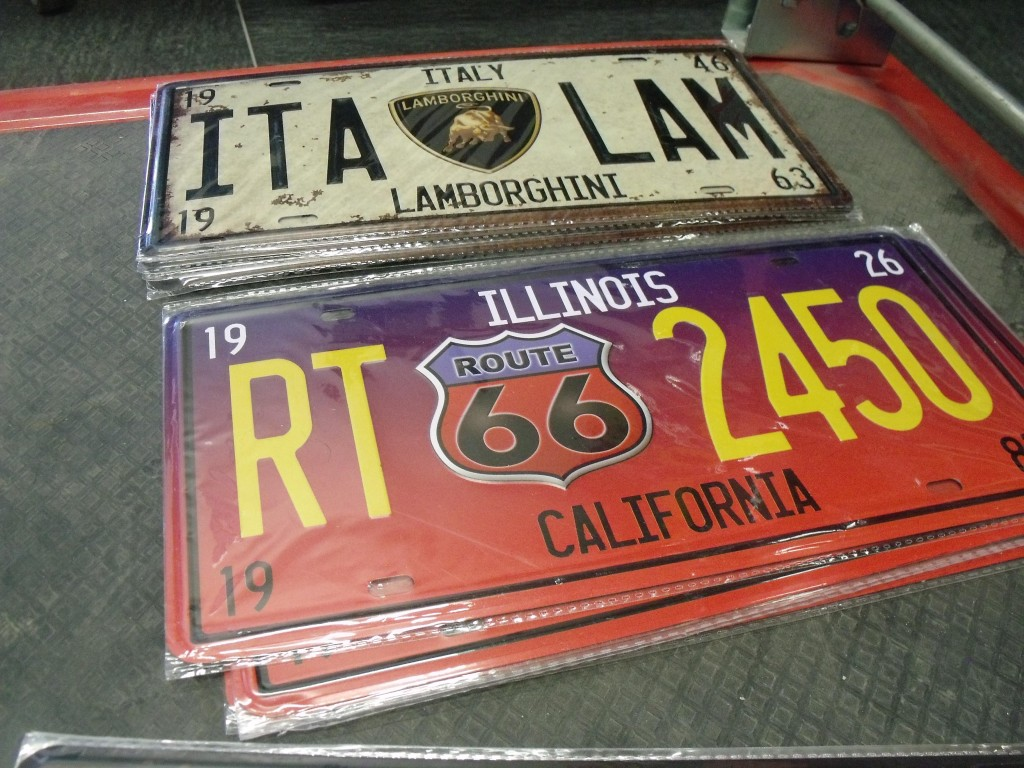 Man Cave Signs Perth : Enamel signs and usa number plates perth arcade machines