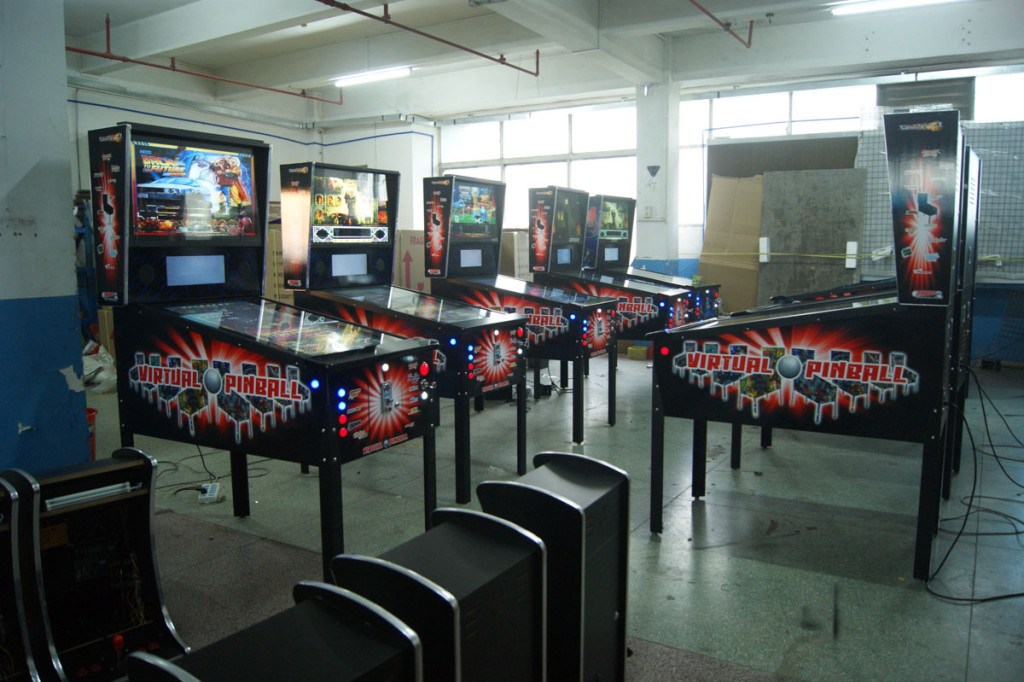 Virtual Pinball Machine (1080 Games) :Perth Arcade Machines