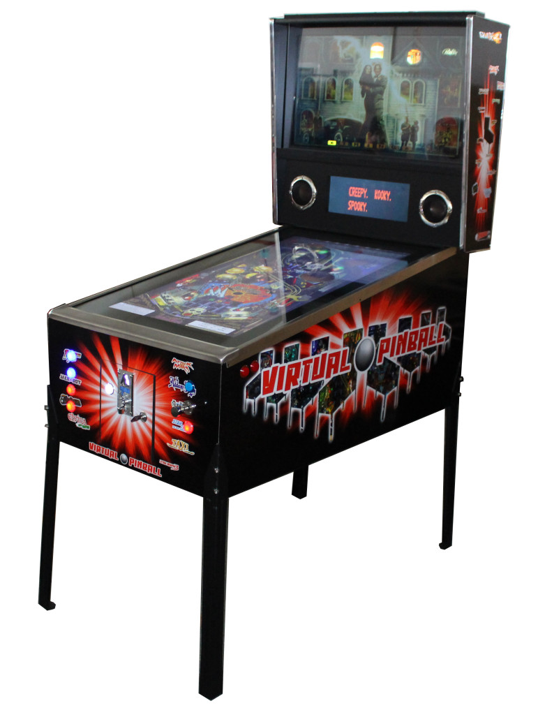 863 Games Virtual Pinball Machine Perth Arcade Machines