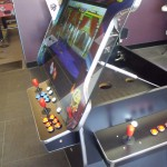 3 sided 26″Arcade Machine with Gas Lift Screen