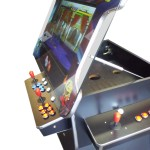 3 sided 26″ Arcade Machine with Gas Lift Screen