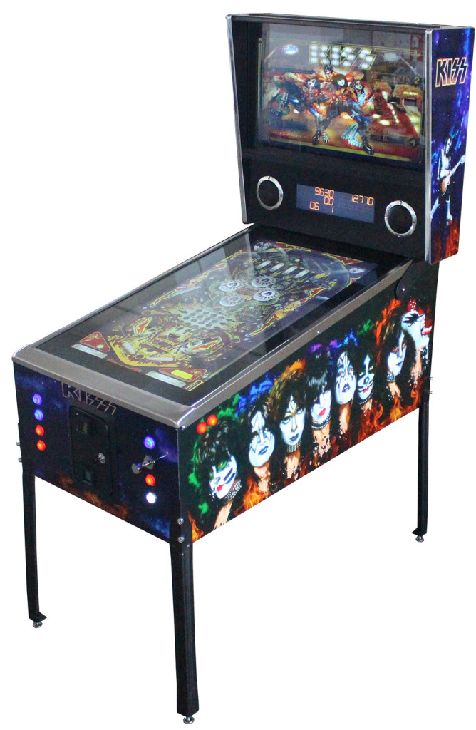 Virtual Pinball Machine 881 Games Perth Arcade