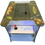 2 Player White Arcade Machine (60 Games)